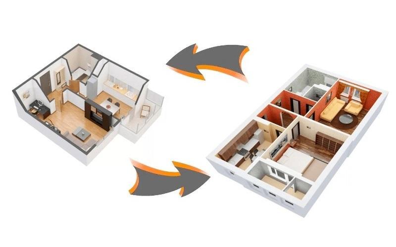 Обменять квартиру, комнату